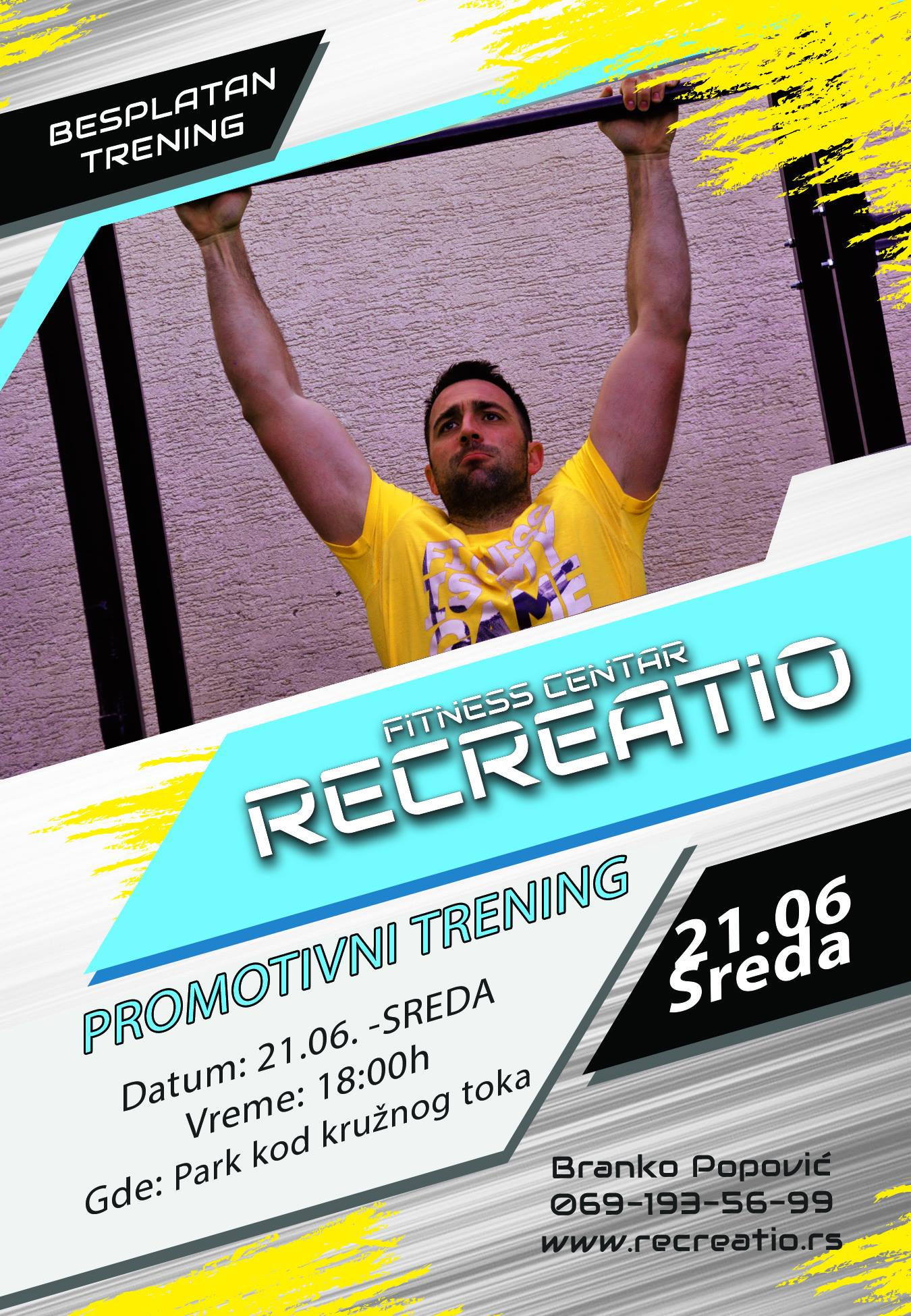 "Fitness centar ""Recreatio"""