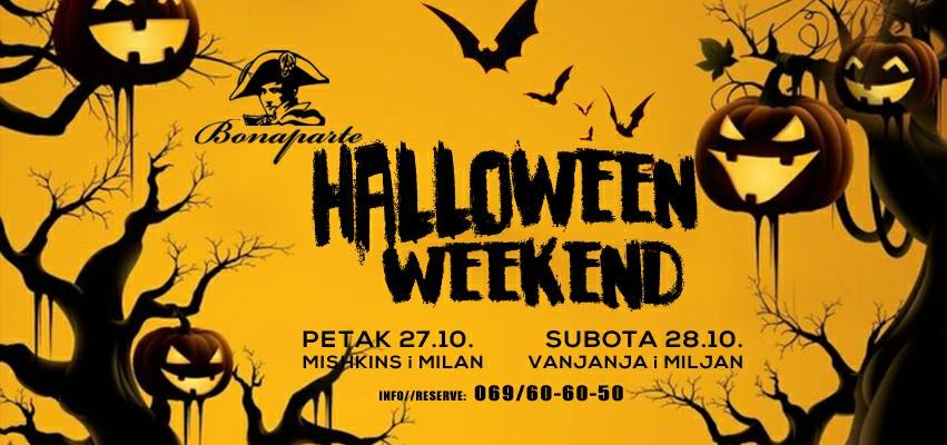 halloween weekend indjija